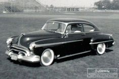 """He's our man in Stockton, California. Garret's first car was a 1940 Ford Coupe that he bought without an engine in """"My brother. Custom Classic Cars, Custom Cars, Gene Winfield, Chrysler Hemi, Stockton California, Ford Convertible, Traditional Hot Rod, Auto Glass, First Car"""