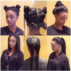 17 Hot Summer Hairstyle For Women With Afro Hair - Hair Styles Sew In Hairstyles, Black Women Hairstyles, Summer Hairstyles, 2015 Hairstyles, Protective Hairstyles, Braided Hairstyles, Rapunzel, Vixen Sew In, Vixen Weave