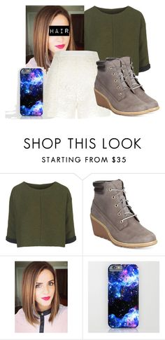 """Untitled #61"" by jmogahed on Polyvore featuring Topshop, Timberland, River Island, women's clothing, women, female, woman, misses and juniors"