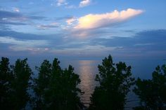 Lake Erie at Sunset