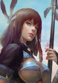 ArtStation - Athira, Ina Wong
