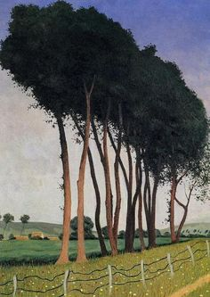 The Family of Trees, 1912 by Félix Vallotton (Swiss/French 1865-1925)