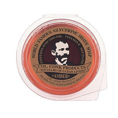 Colonel Conk Amber Shave Soap
