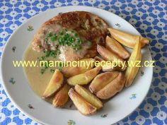 Hořčicová omáčka Czech Recipes, Stew, Pork, Meat, Chicken, Kale Stir Fry, One Pot, Pigs, Pork Chops
