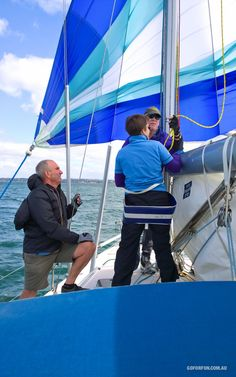 Climbing The Yacht Mast For The First Time - Go For Fun: Travel, Sailing, Photography - Inspiration, Tips, Adventures - Australia and The World! Sailing Classes, How Did It Go, See Photo, First Time, Climbing, Cruise, Australia, Adventure, Watch