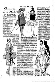 La Mode du jour. 1926/01/28