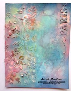 Astrid's Artistic Efforts: Mixed Media Monthly - Show us your super power Mixed Media Techniques, Mixed Media Tutorials, Art Journal Techniques, Mixed Media Cards, Mixed Media Journal, Mixed Media Collage, Altered Canvas, Altered Art, Mix Media