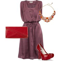 fancy, created by abentley22 on Polyvore.   I love this color combination!