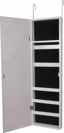 $59 from fortytwo.sg - Ariel Over Door Hanging Mirrored Cabinet - Storage Units - Bedroom   Furniture Appliances   FortyTwo