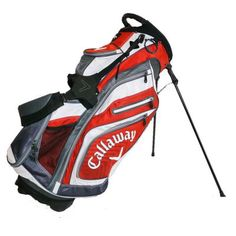Chev Org Stand Bag Red/Charcoal/White 2015