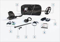ΠΕΡΙΕΧΟΜΕΝΑ 1 – RC29V DD Πηνίο Αναζήτησης 28.5 cm x 18 cm (11″x7″) & Search Coil Cover 2 – RC13E DD Πηνίο Αναζήτησης 13 cm (5″) & Search Coil Cover 3 – Σάκος Μεταφοράς 4 – Ακουστικά 5 – Καλύμματα Βροχής 6 – Φορτιστής & Φορτιστής Αυτοκινήτου – 4 x AA Rechargeable Batteries 7 – Έξτρα Κάτω Κοντάρι 8 – Εγχειρίδιο Χρήσης στα Ελληνικά & Αγγλικά και Πιστοποιητικό Εγγύησης