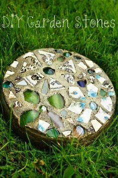 mosaic pathway tiles   Diy Mosaic Pathway-Stone by loracia