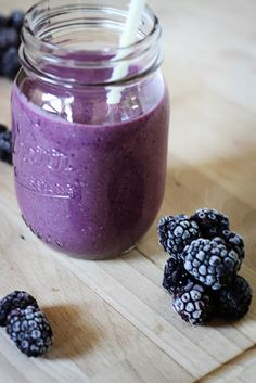 Blackberry & Banana Smoothie Recipe