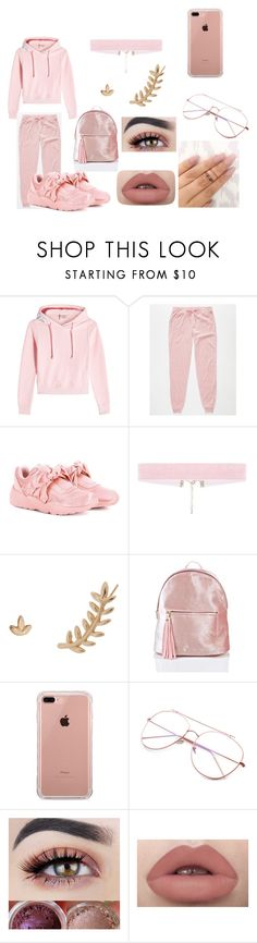 """""""When a female get new shoe ay nae nae"""" by jenadieu ❤ liked on Polyvore featuring Vetements, Almost Famous, Puma, Humble Chic, Belkin, Rihanna and newshoe"""