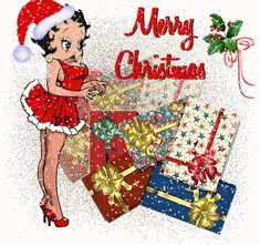 Gifs Betty Boop Navidad (shared via SlingPic) Merry Christmas Gif, Christmas Art, Christmas Greetings, Christmas Quotes, Vintage Christmas, Gifs, Imagenes Betty Boop, Boop Gif, Animated Cartoon Characters