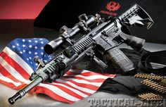 Ruger-SR 556 The Only AR15 i would ever want to own. Actually not fully sure about ever... But how can you go wrong with Ruger?