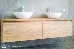 Droomhout   Eiken badkamermeubel op maat