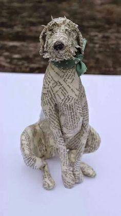Sighthounds - Papier Machê - Lorraine Corrigan. Lorraine Corrigan emociona a todos aqueles que como eu, amam os cães. Pela lealdade, ...