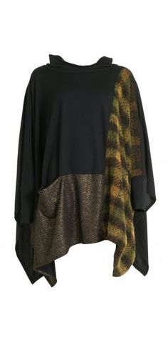 Alembika Oversized Mixed Up Top
