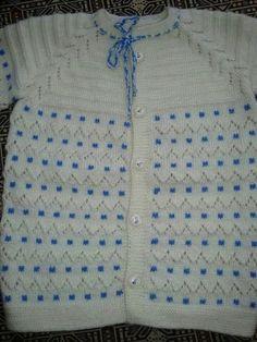 Easy Crochet Patterns, Baby Knitting Patterns, Knitting Designs, Baby Patterns, Crochet Dress Outfits, Moda Emo, Baby Vest, Knitting Videos, Yarn Shop