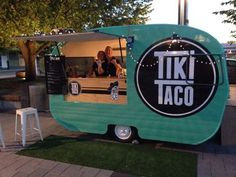 70 Ideas Food Truck Design Logo Website For 2019 Coffee Carts, Coffee Truck, Aloita Resort, Kombi Food Truck, Taco Food Truck, Best Food Trucks, Foodtrucks Ideas, Coffee Trailer, Coffee Van