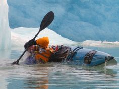 A cold roll- i would love to go kayaking one day