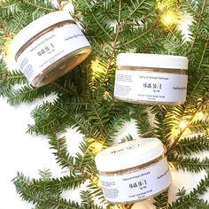 Holiday Organic Sugar Scrub Set | Christmas Gift | Holiday Body Scrub Gift Set | Vegan Body Scrub | Vegan Sugar Scrub | Organic Sugar Scrub by madewithlovebykm on Etsy https://www.etsy.com/listing/555398406/holiday-organic-sugar-scrub-set