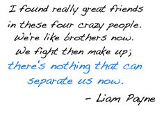 one thing i love about them is their friendship with one another<3