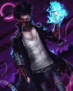 Dabi Boku No Hero Academia by on DeviantArt My Hero Academia Shouto, Hero Academia Characters, Anime Villians, Handsome Anime Guys, Hero Wallpaper, Hot Anime Boy, Anime Boyfriend, Boku No Hero Academy, The Villain
