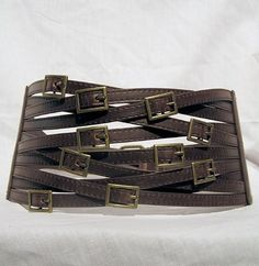 steampunk belt by salior girl