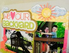 MightyCrafty: Backyard Love with Miss Kate Cuttables, echo park collection