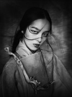 Fei Fei Sun in China Life Magazine Feb 2013 photographed by Paolo Roversi