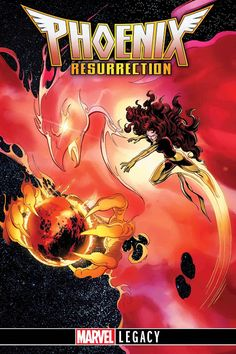 Jean Grey Returns To The Marvel Entertainment Universe In PHOENIX RESURRECTI...