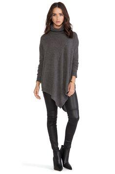 360 Sweater Karla Sweater in Charcoal