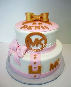 Michael Kors Birthday Cake