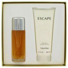 Escape Gift Set Eau de Parfum 3.4 oz & Lotion 6.7 oz by Calvin Klein Women 2 pcs #CalvinKlein