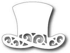 Tutti Designs - Cutting Die - Fancy Top Hat