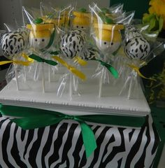 """I like the concept of this, not the zebra print. Photo 4 of Wild Zebra Stripes with school colors! / Graduation/End of School """"To a WILD future! School Parties, Grad Parties, Birthday Parties, Birthday Crafts, Graduation Cake Pops, Graduation Gifts, Graduation Ideas, Chocolates, Graduation Celebration"""