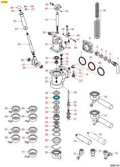 SAN MARCO HEBELGRUPPE KAFFEEAUSGABE - Espressomaschinen Ersatzteile und Zubehör, Reparatur