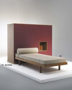 PHILLIPS : NY050107, Charlotte Perriand, Bed, Maison du Brésil, Cité International Universitaire de Paris, France