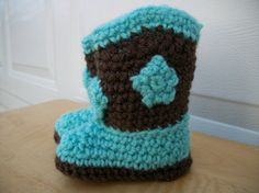 Baby Cowboy/Cowgirl Booties by MaddysNana on Etsy