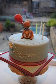 It's Hester's birthday again! Kangaroo cake required! by Bath Baby Cakes, via Flickr