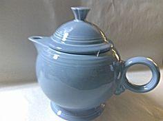 Periwinkle Post 86 Fiesta Teapot