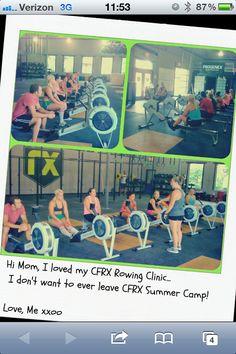 #rowing #class @ #crossfitRX #crossfit