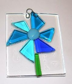 Fused Glass Sun Catchers- Lots of Pics - GLASS CRAFTS