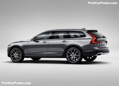 Volvo V90 Cross Country 2017 poster, #poster, #mousepad, #tshirt
