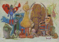 Sesame Strange by Mike Dubisch.