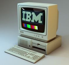 IBM computer.