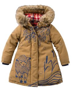 Oilily Mädchen Jacke Cosy coat