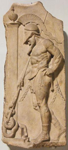 Unknown Artist. A Warrior.  Neo-Attic Greco-Roman. 1st century BC